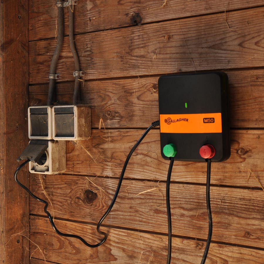 Gallagher M50 Electric Fence Energizer Mains Powered Energizers