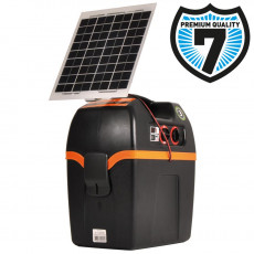 B200 battery fence energizer incl. 6W solar assist