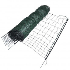 Poultry netting, green, single pin, 112cm