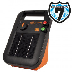 S16 solar fence energizer incl. battery