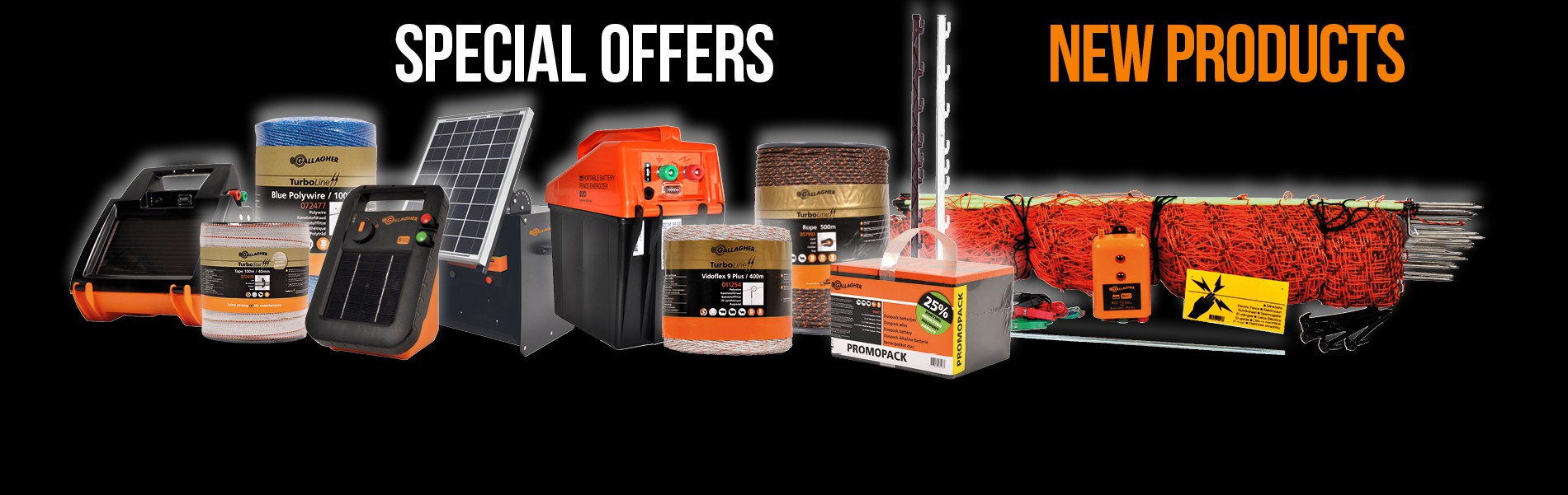 Special offers new products