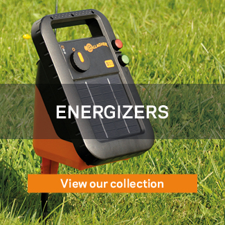 Energizers Gallagher electric fencing