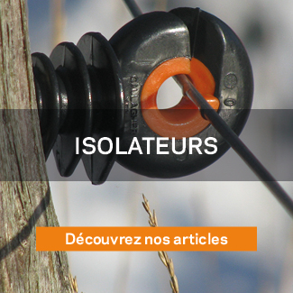 Isolateurs Gallagher clôture électrique