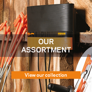 Our assortment Gallagher electric fencing