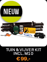 M10 tuin en vijver kit – Gallagher elektrische afrastering